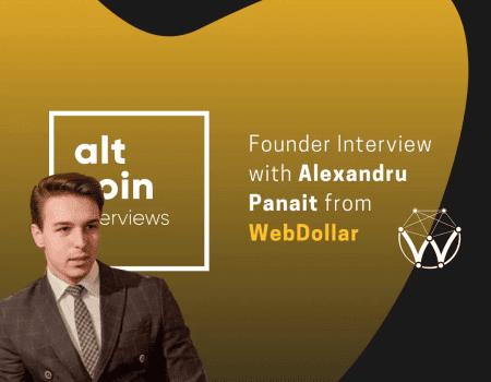 Interview with Alexandru Panait – WebDollar
