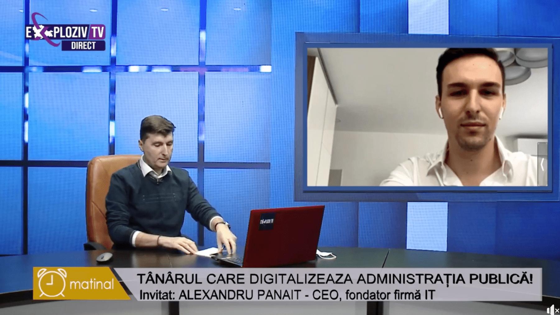 Exploziv Tv | Tânărul care digitalizează administrația publică din România