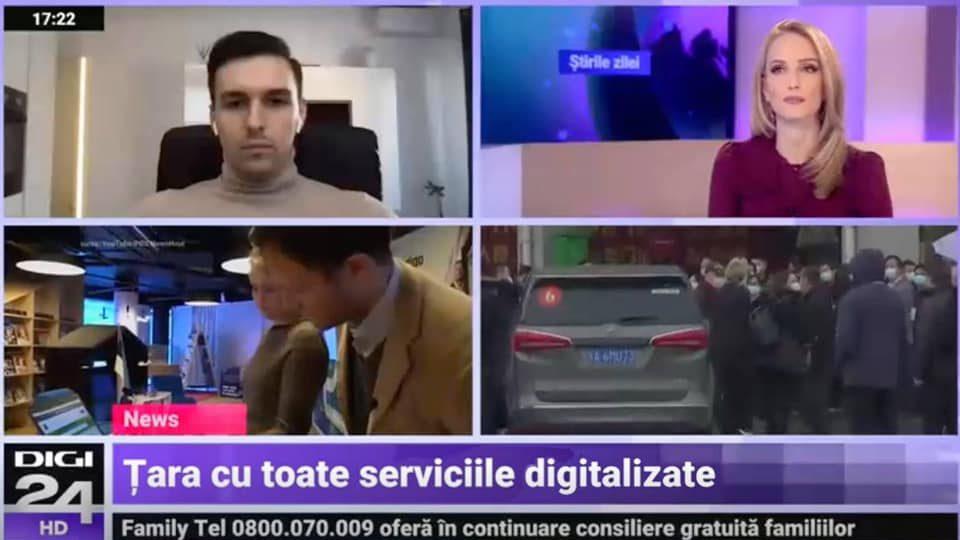 Digi24 | Alexandru Panait – Despre pasaport digital de Vaccinare PNRR si MCID